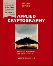 Applied Cryptography: Protocols, Algorithms, and Source Code in C, 2nd Edition,