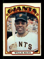 1972 Topps #49 Willie Mays VGEX Giants 400739