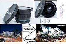Super Wide Hi Def Fisheye Lens For Canon Vixia HF S21 S20