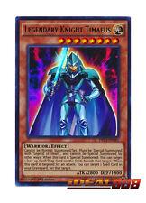 YUGIOH x 3 Legendary Knight Timaeus - DRL3-EN041 - Ultra Rare Near Mint