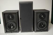 2 Pinnacle P 6.2 Main / Stereo Speakers & 1 Sierra Acoustics SA-SN3LCR Speaker