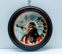 SPIRIT OF THE WHITE WOLF-BY ARIUPEL LIMITED EDITION FRANKLIN MINT HEIRLOOM PLATE