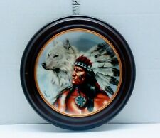 New ListingSpirit Of The White Wolf-By Ariupel Limited Edition Franklin Mint Heirloom Plate