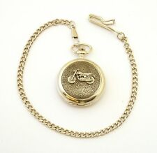 Classic Motorbike Pocket Watch Gift Boxed FREE ENGRAVING Bike Lover Gift