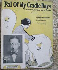 Pal of My Cradle Days - Denny Rubin - Sheet Music 1925