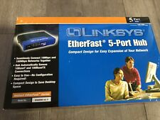 Linksys EFAH05W Etherfast 5-Port Hub Free Shipping