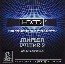 HDCD Sampler, Vol. 2 (Reference Recordings), Various Artists, Good CD