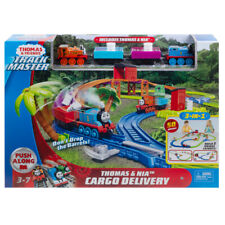Thomas & Friends Trackmaster Thomas & Nia Cargo Delivery Playset - GFD40