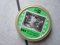 """Defa Film - Super 8mm Film   33 meter,s/w. """"Die Prinzessin auf der Erbse"""" Dose"""