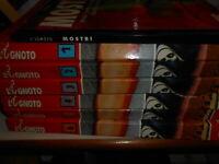 LIBRO : PARAPSICOLOGIA L'IGNOTO 6 VOL- + MOSTRI -J.M.SERTORI-DE AGOSTINI