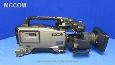Panasonic AJ-D400P DVCPro Camcorder w/ 890 drum hrs, Canon YH12x4.8 KRS IX12