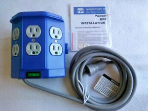 Medical PowerMate IV Pole Power Outlet Hub