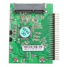 "MSATA Mini PCI-E SSD A 1.8"" 44Pin adattatore IDE Maschio Convertitore Adattatore Board L40"