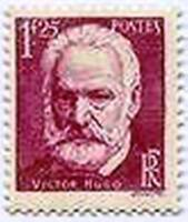 "FRANCE STAMP TIMBRE YVERT N° 304 "" VICTOR HUGO 1F25 "" NEUF xx LUXE"