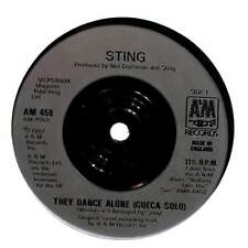 "Sting - They Dance Alone - 7"" Record Single"