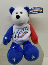 LIBERTY Patriotic USA Limited Treasures Stuffed Teddy Bear NWT