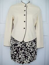 Ann Taylor Long Sleeve Suit Dress Women's Sz S 4, 6 Fully Lined GORGOUS