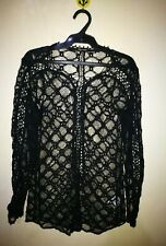 ISABEL MARANT ALL LACE BLACK TOP TAG SIZE 38
