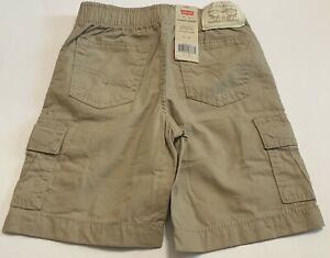Levi's Boys' Cargo Shorts Extra Room In Seat And Thigh, Fall Below Knee