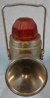 Railroad Hazard Light Ash Flash Hong Kong British Empire Lantern Clear Red Light