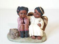 Vintage Martha Holcombe Angel Michael & Kim Child #168 Figure All God's Children