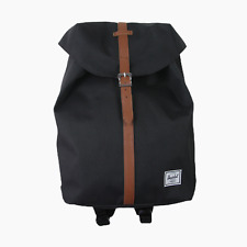 New Herschel Supply Co Black Post Mid Volume Padded Backpack Bag Rucksack BNWT