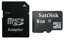 8GB MicroSD Speicherkarte SANDISK für Samsung S4, S4mini, S5 und S5mini
