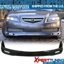 Fits 04 05 06 Acura Tl Jdm Front Bumper Lip Spoiler Pu