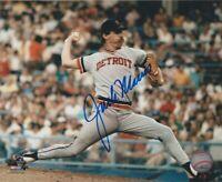 Jack Morris Detroit Tigers MLB 8x10 Autographed Photograph - PITCH H