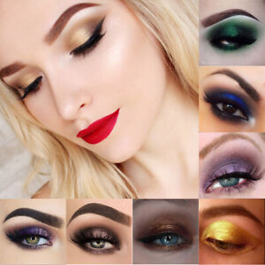 PHOERA 12 Colors Pearlescent Matte Eyeshadow Eye Shadow Palette Makeup INS mou~