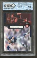 1998 Peyton Manning UD Constant Threat #cs2 Gem Mint 10 RC Rookie Colts Broncos