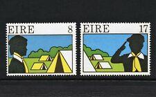 IRELAND (1977) MNH SET OF 2;  SCOUTING & GUIDING