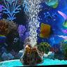 PJ_ Fish Tank Aquarium Stone Ornament Oxygen Bubble Pump Air Volcano Shape Dec