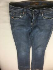 Fossil Jeans Women Size 26  (26 X 30.5) Slim Boot Medium Wash Made in USA B506