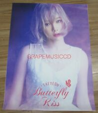 TAEYEON GIRLS' GENERATION BUTTERFLY KISS CONCERT OFFICIAL GOODS 2 POSTER SET NEW