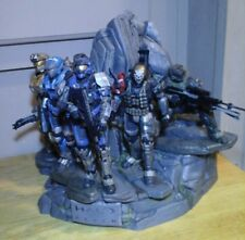 MINT HALO REACH LEGENDARY EDITION NOBLE TEAM STATUE ONLY100% COMPLETE WITH GUNS