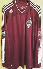 MLS Adidas Colorado Rapids Soccer Authentic Long Sleeves Jersey 2XL NWT