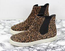 STUART WEITZMAN Leopard Print Suede Ankle Boots Pumps, Size EU 40.5 / UK 7.5