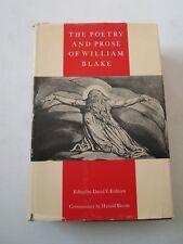 THE POETRY AND PROSE OF WILLIAM BLAKE VINTAGE 1965 HARDCOVER David V. Erdman HC
