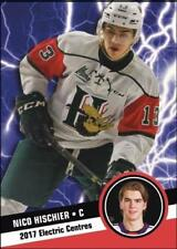 2017 Hot Shot Prospects Electric Centres Insert rookie NICO HISCHIER