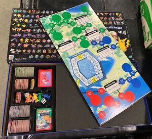 Pokemon Master Trainer Board Game 1999, Hasbro Incomplete
