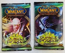5x World of Warcraft WoW Booster durch das Dunkle Portal 75 Spielkarten