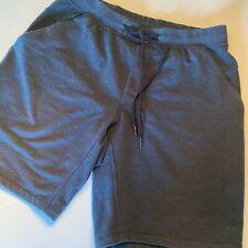 mens lululemon shorts large, blue