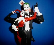 The Joker and Harley Quinn Statue Mad Love 1st Edition Batman DC Comic Alex Ross