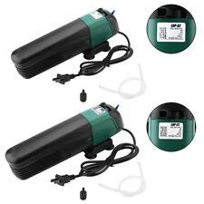 5/9W Aquarium Fish Tank Submersible Water Filter Oxygen UV Sterilizer Lamps New