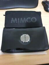 BNWT MIMCO ZIP WALLET BLACK  - RRP 199 Express
