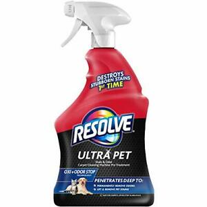 Resolve Ultra Pet Stain & Odor Remover Spray 32oz