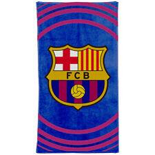 FC BARCELONA PULSE DESIGN TOWEL BATH BEACH SHOWER GYM SWIM 100% COTTON NEW XMAS