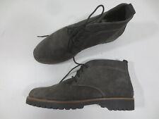 ACO Schnür Boots Stiefelette 38 G Leder Echtleder grau NEU /9