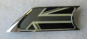 Genuine MINI Union Jack N/S Passenger Side Indicator Trim cap for R55 R56 R57